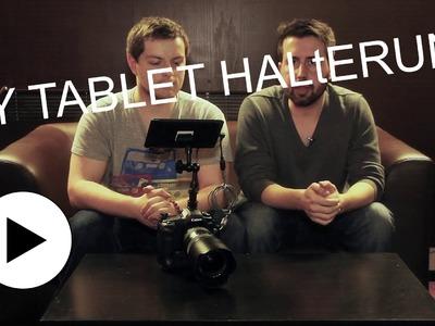 DIY Tablet-Halterung für das Nexus 7 als DSLR-Monitor