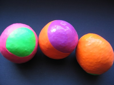 Jonglierbälle selber machen  - DIY Anleitung -