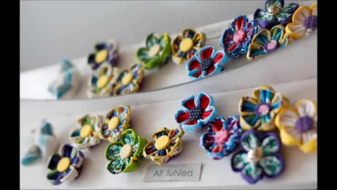 All JuNied - DIY Kanzashi