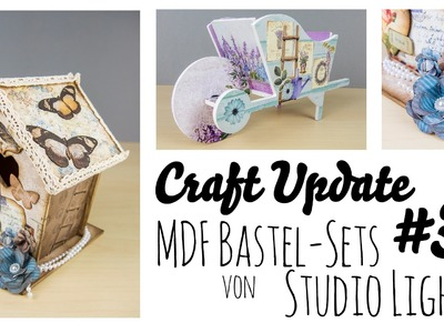 "[Craft Update #35 | ""Review""] MDF Bastel-Sets von Studio Light"