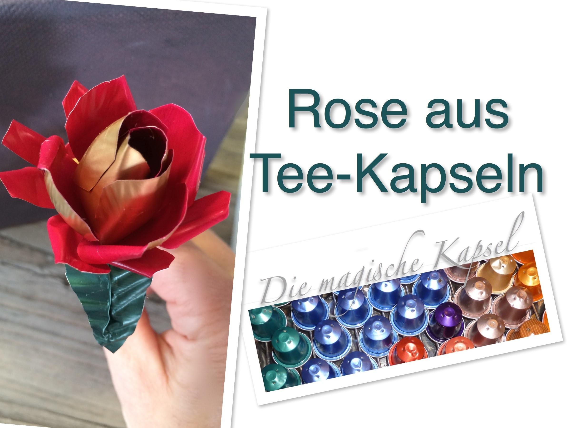Nestle-T Kapsel Schmuck Anleitung - Rose aus Teekapseln - die magische (Tee)-Kapsel