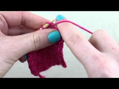 Simple Stylish Stricken - Tutorial: Muster Bibliothek 26: Pikeemuster