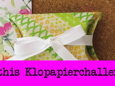 DIY Inspiration Challenge #25 Klopapierrolle | Kathis Challenge | Tutorial - Do it yourself