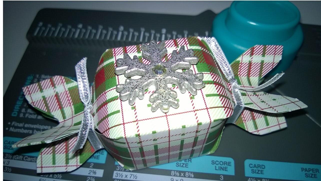 Envelope Punch Board Christmas Cracker