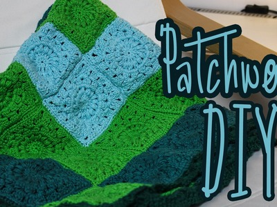 Granny Square Patchwork-Decke häkeln *DIY*