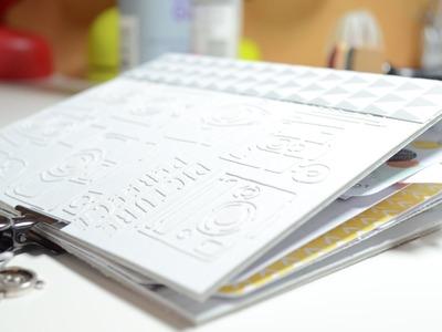 Scrapbook Mini Album[Basteln mit Papier,selbst gemacht]Deutsch