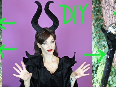 DIY Maleficent Stab - Halloween 2015 #4