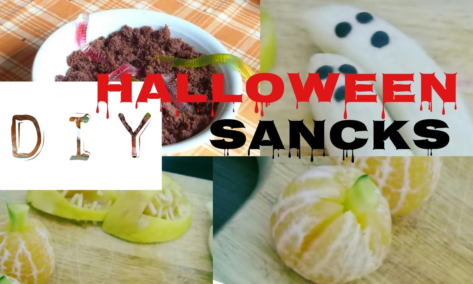 DIY- Halloween Snacks 2015 |oOBeeHappyOo