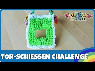Rainbow Loom Fussball-Tor-Schiessen Challenge 2.6 - deutsch