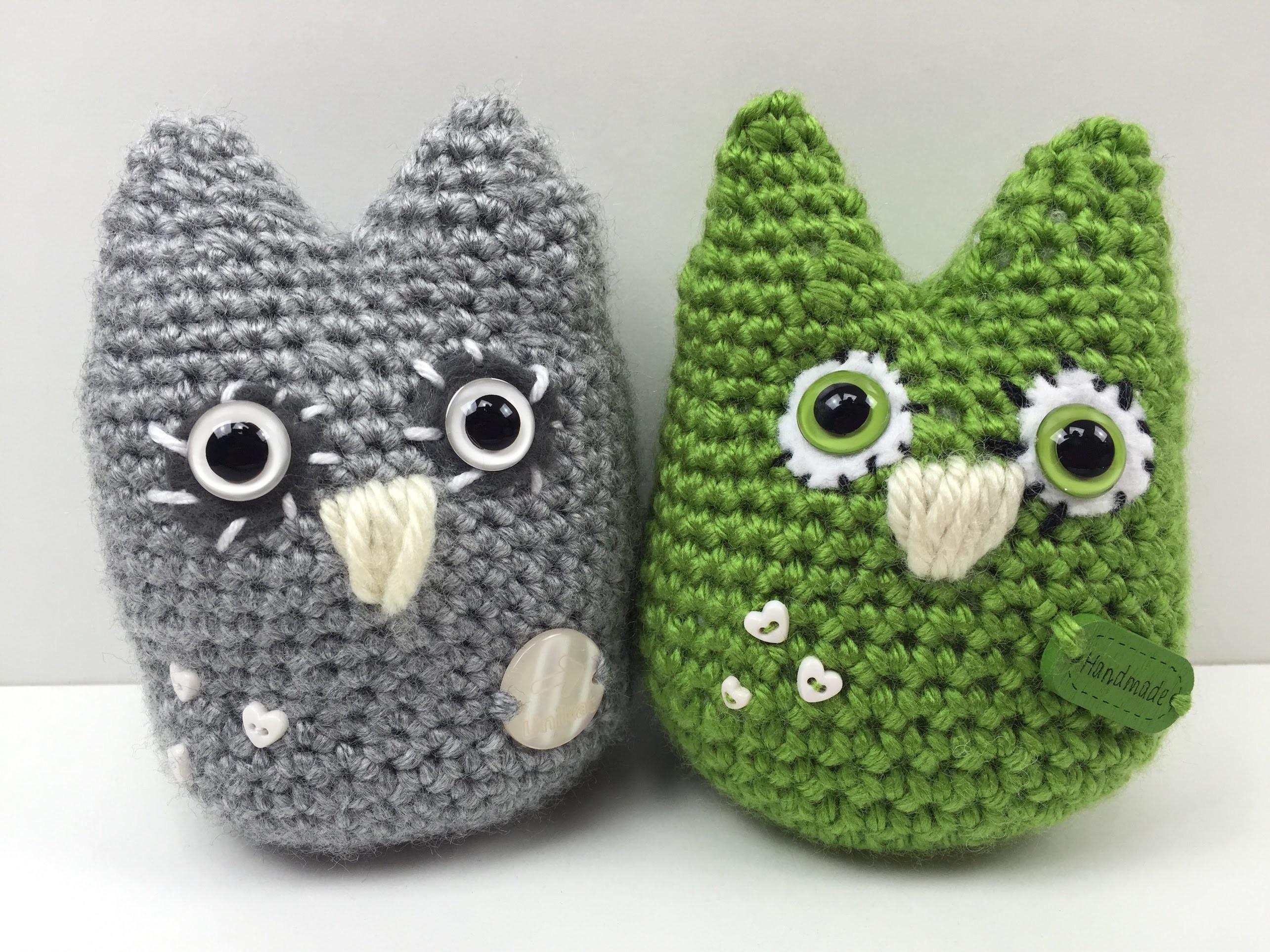 Eule häkeln: schmU-HUsiger UHU - how to crochet an owl