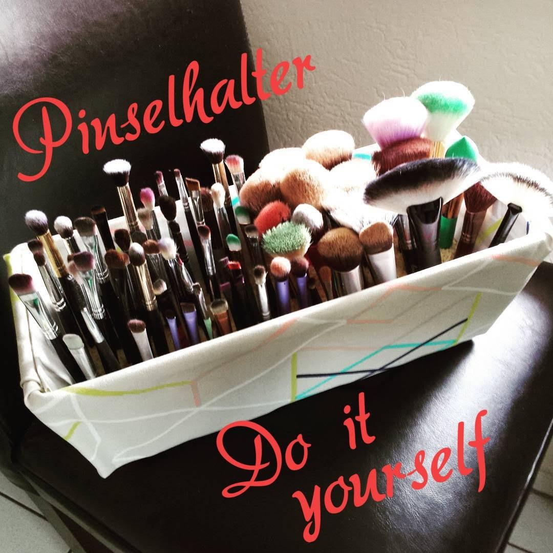 Pinselhalter.Brush Holder DIY for many brushes