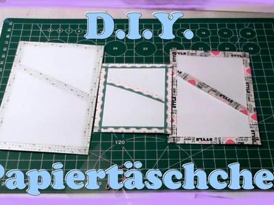 [D.I.Y.] Papiertäschchen für den Filofax. Terminplaner