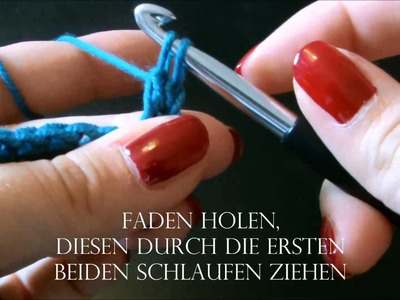 "Häkeln:  ""for starters""    häkeln für Anfänger   crochet"
