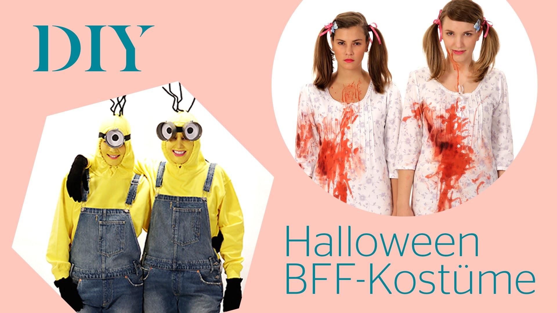 2 DIY Halloween BFF-Kostüme | Stylight