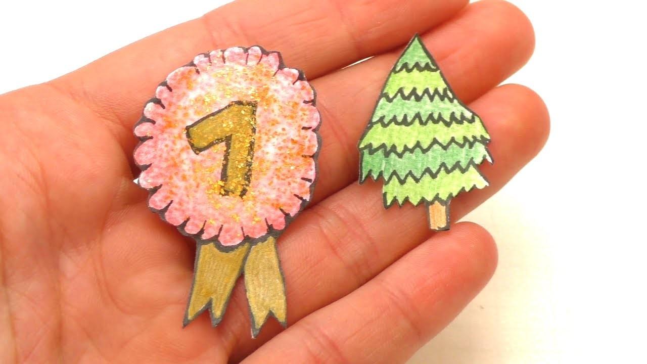 DIY Weihnachtssticker selber machen | Aufkleber für den Adventskalender basteln | Weihnachten
