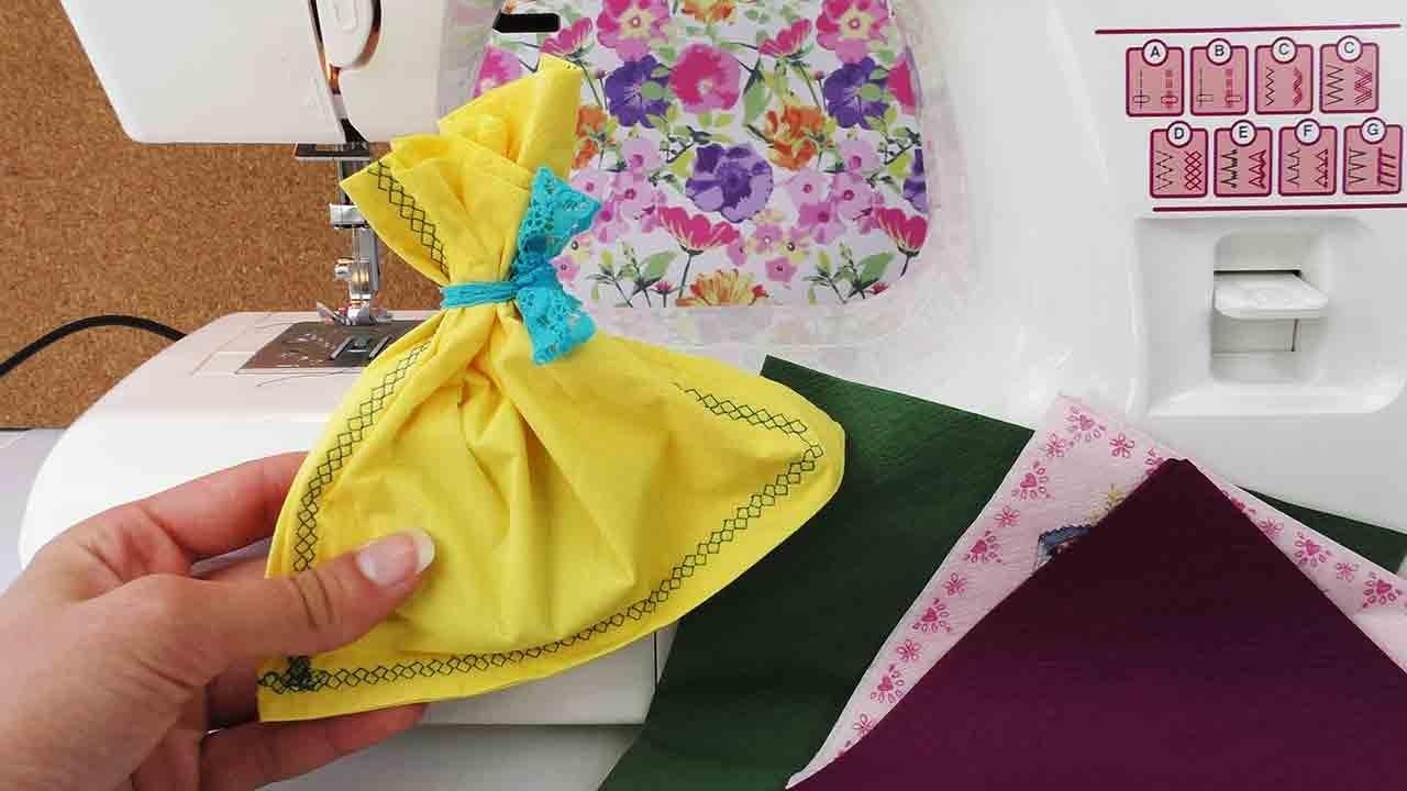 DIY Geschenke verpacken  | Beutel nähen | Geburtstag, Weihnachten, Adventskalender