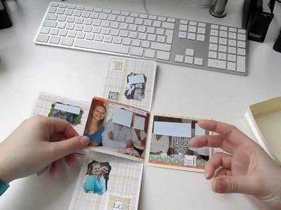 Kreativer Montag 08 - Fotoalbum Exploding Box