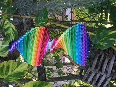 [DIY] Perler Bead Rainbow Spinner