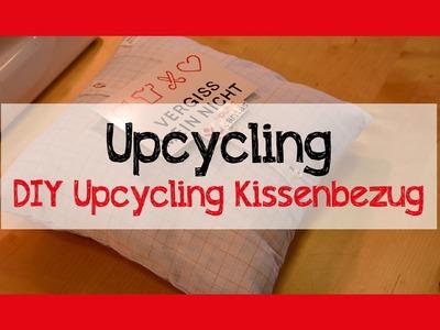 DIY Upcycling Kissenbezug Tutorial