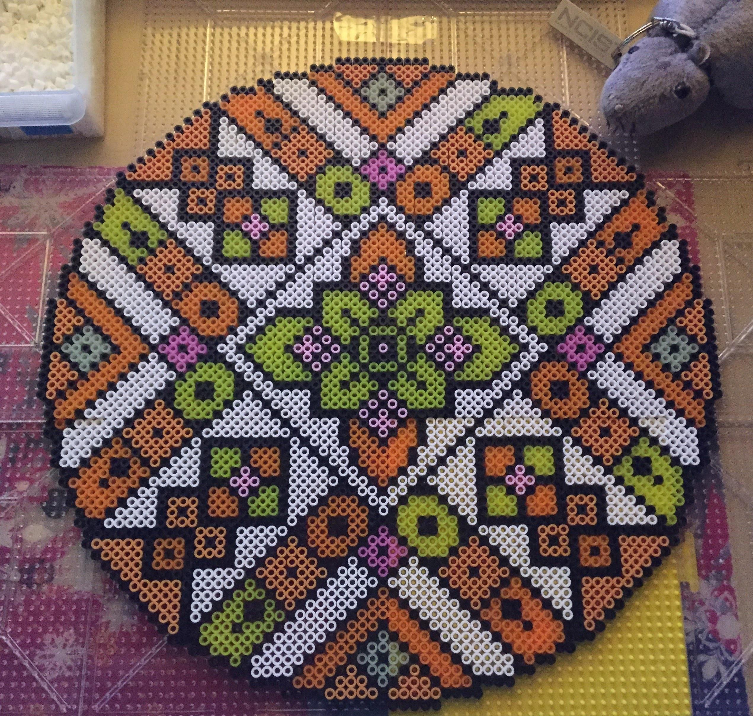 [Tutorial] Perler Bead Mandala