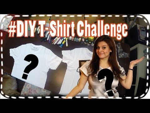 DIY Challenge _ T-Shirts gestalten