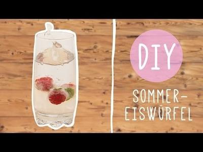 DIY mit Nina: Leckere Sommer Eiswürfel selber machen!