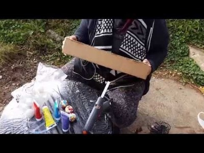 DIY - Pingpong Bälle werden zu einer Lichterkette