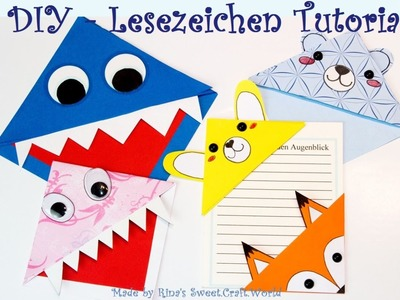 [DIY] Kawaii. Monster Lesezeichen - Tutorial