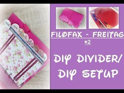 Filofax Freitag #2 - DIY Divider.Setup for Filofax