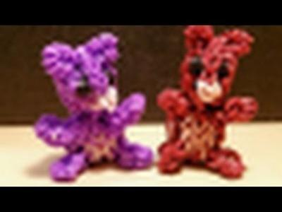 Loom Bär   Teddybär 3D Anleitung || Loom Tutorial Deutsch