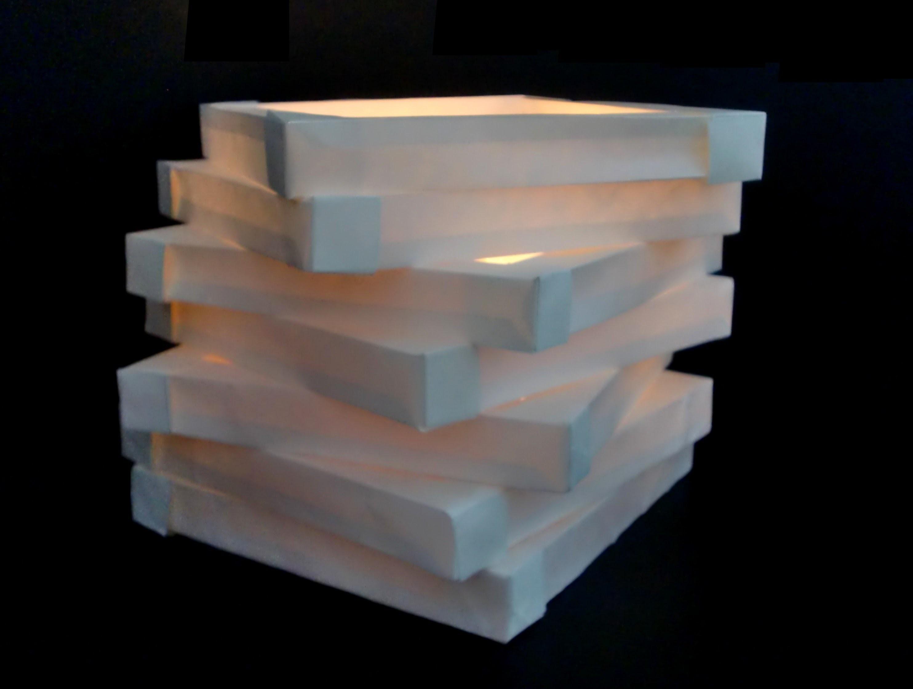 Ebenenlampe aus Papier: Paperlight with levels - Tutorial [HD.deutsch]