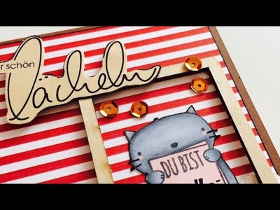 Scrapbook* MiniAlbum *Fotobox* [tutorial | deutsch]