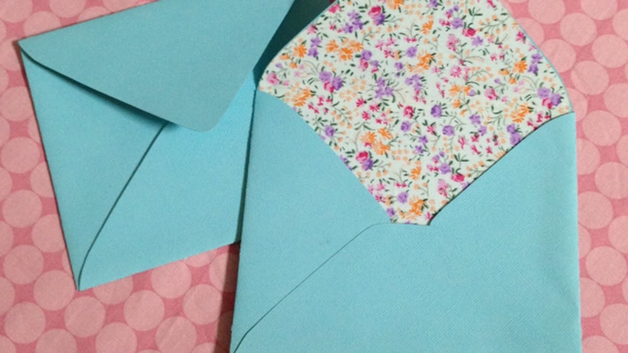 Briefumschläge Mit Stoffverzierung Herstellen - DIY Crafts - Guidecentral