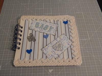 °Craft Update° - Mini Scrapbook Baby Boy