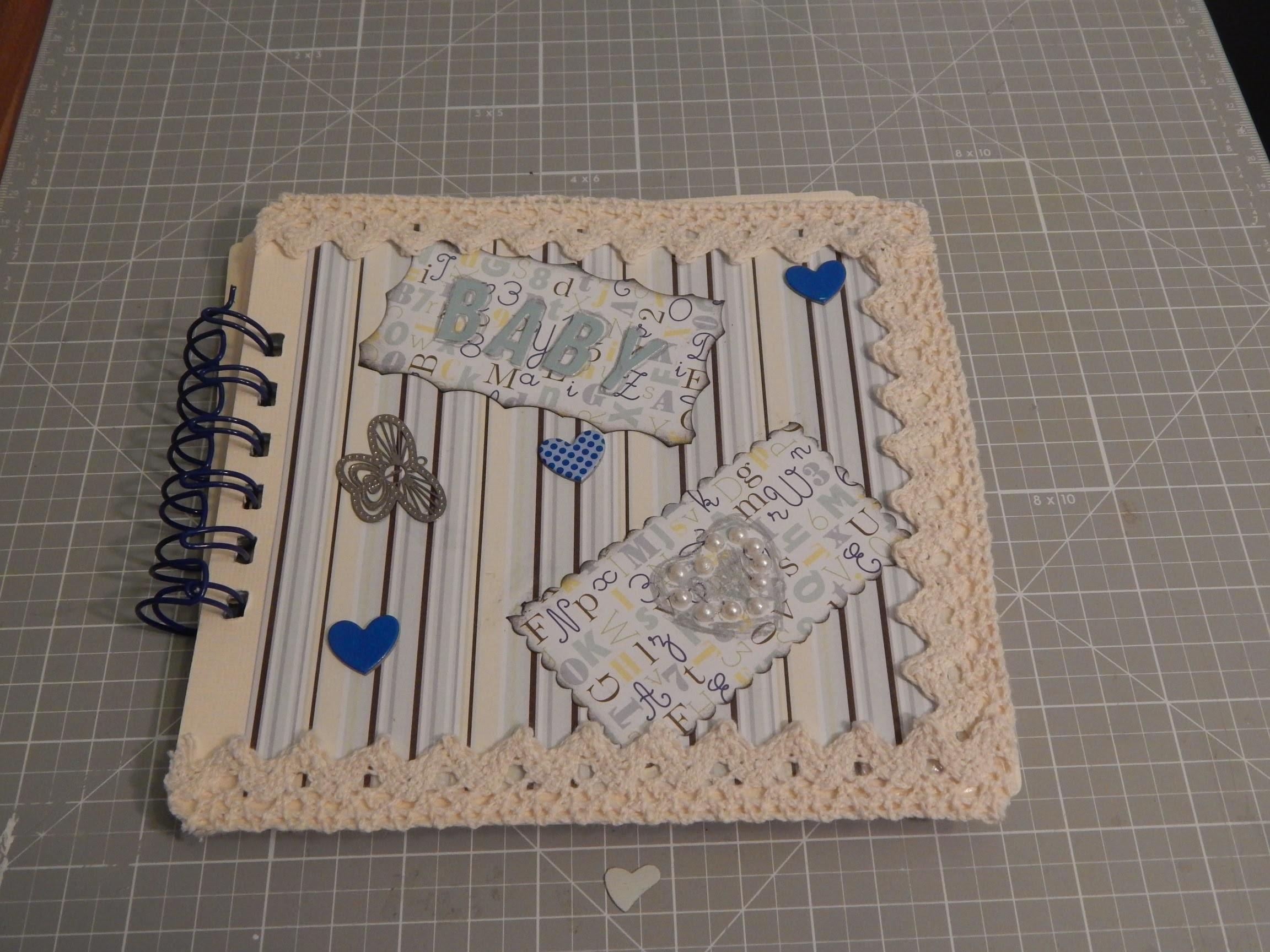 °Craft Update° - Mini Scrapbook Baby Boy