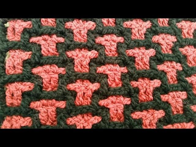 Häkeln und stricken mit Larysa Demel  Häkelmuster 4  Video Tutorial