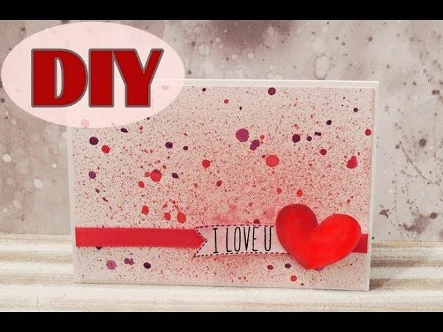 Valentinstagskarten selber basteln  #1 - Valentine's Day Cards - DIY