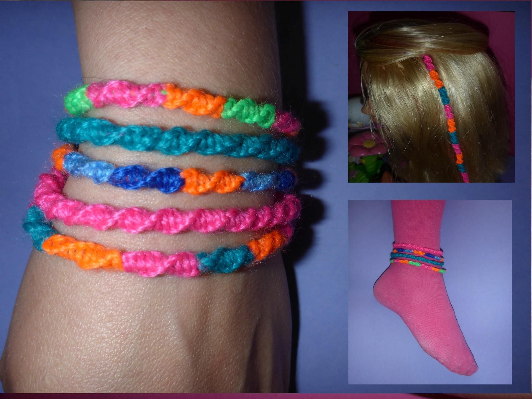 DIY Freundschaftsband EINFACH und SCHNELL knüpfen, Friendship Bracelets