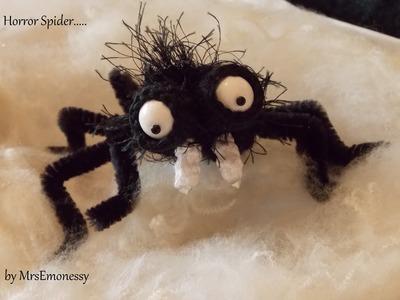 DIY Häkeln Horror Spinne Halloween