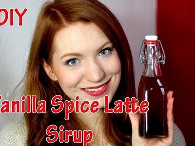 DIY Vanilla Spice Latte Sirup wie bei Starbucks