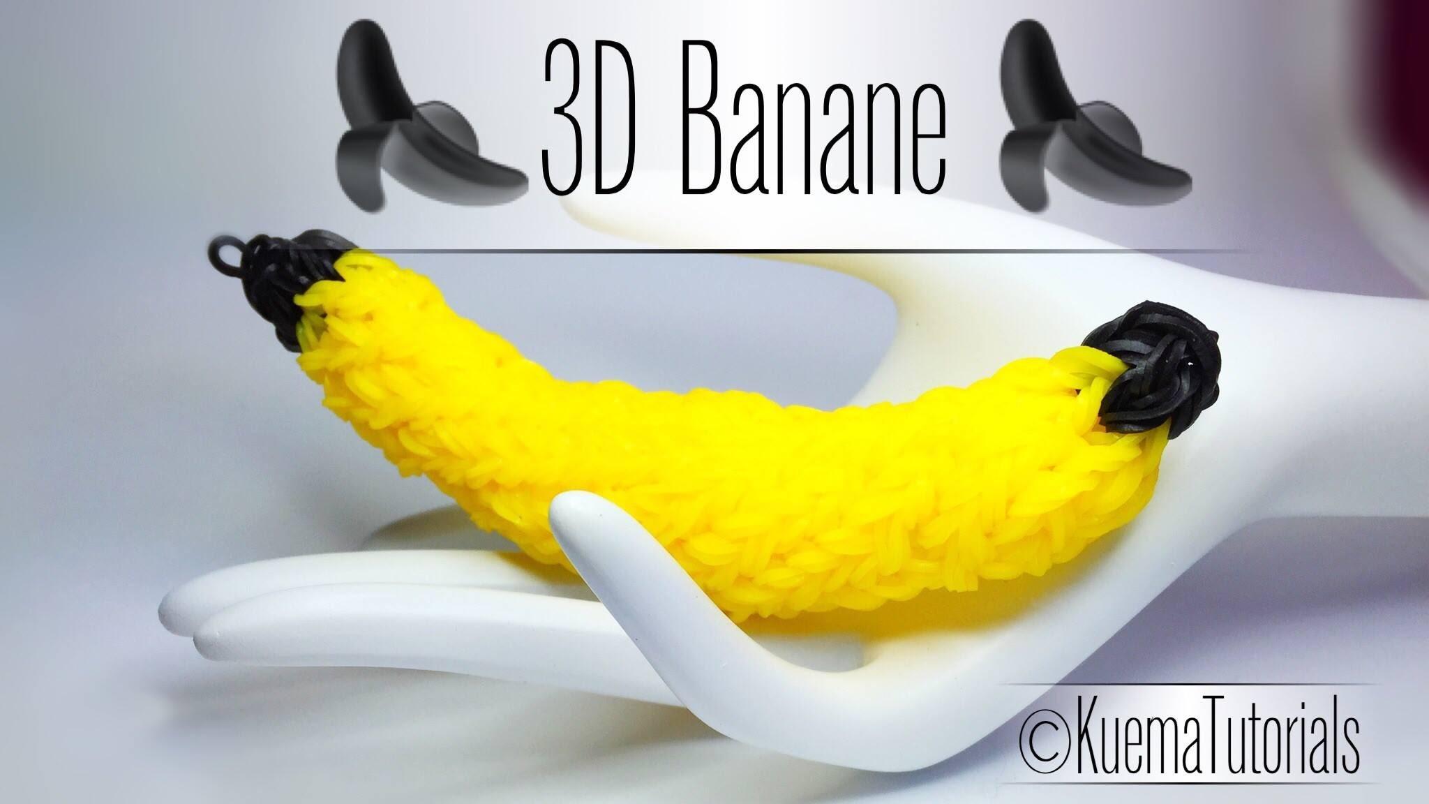 Rainbow Loom - 3D Banane. 3D Banana