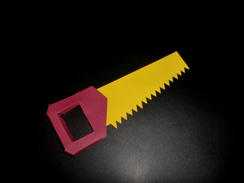 Saege aus Papier: Paper Saw - Tool-Tutorial [HD.deutsch]