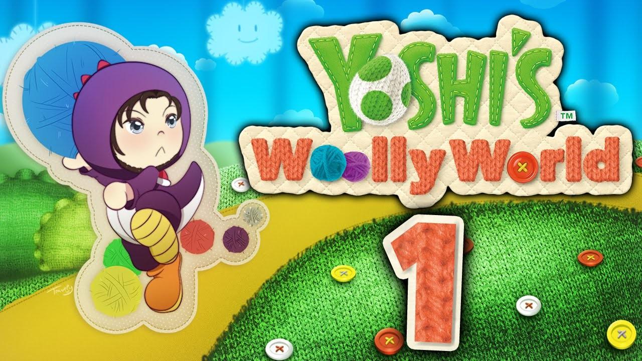 Let's Play Yoshi's Woolly World [Blind. German] - #1 - Lasst uns häkeln!