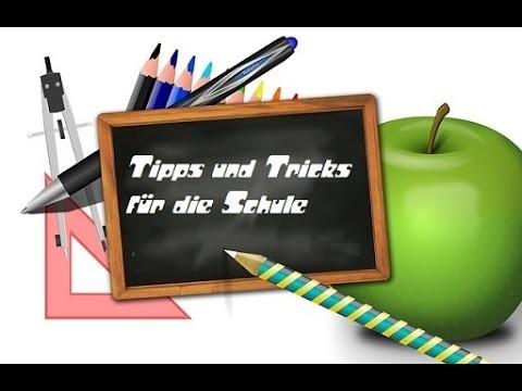 10 Tipps und Tricks für die Schule + 1 Rezept (back to school) mit der zucker Fee