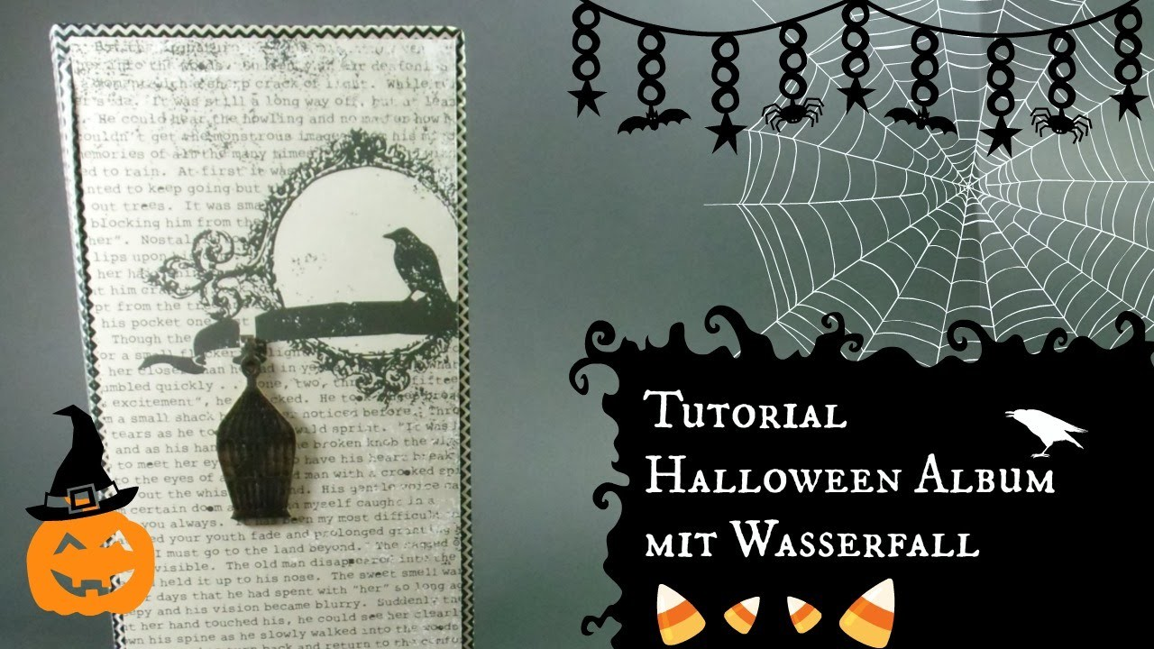 DaniPeuss [Tutorial] Halloween Album mit Wasserfall