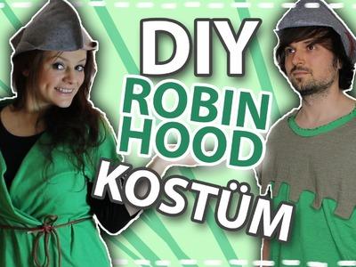 DIY Karnevals.Faschings Kostüm - Robin Hood #DoItEsther