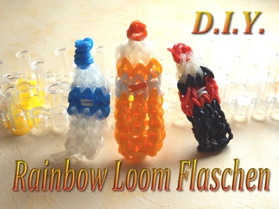 Rainbow Loom Bands - Flaschen. Bottles