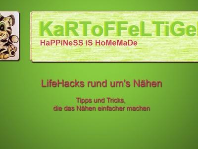 DIY - LifeHacks: Tipps & Tricks rund um's Nähen #2