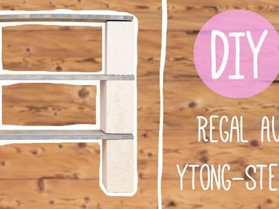 DIY mit Nina: Cooles Regal aus Ytong-Steinen oder Backsteinen