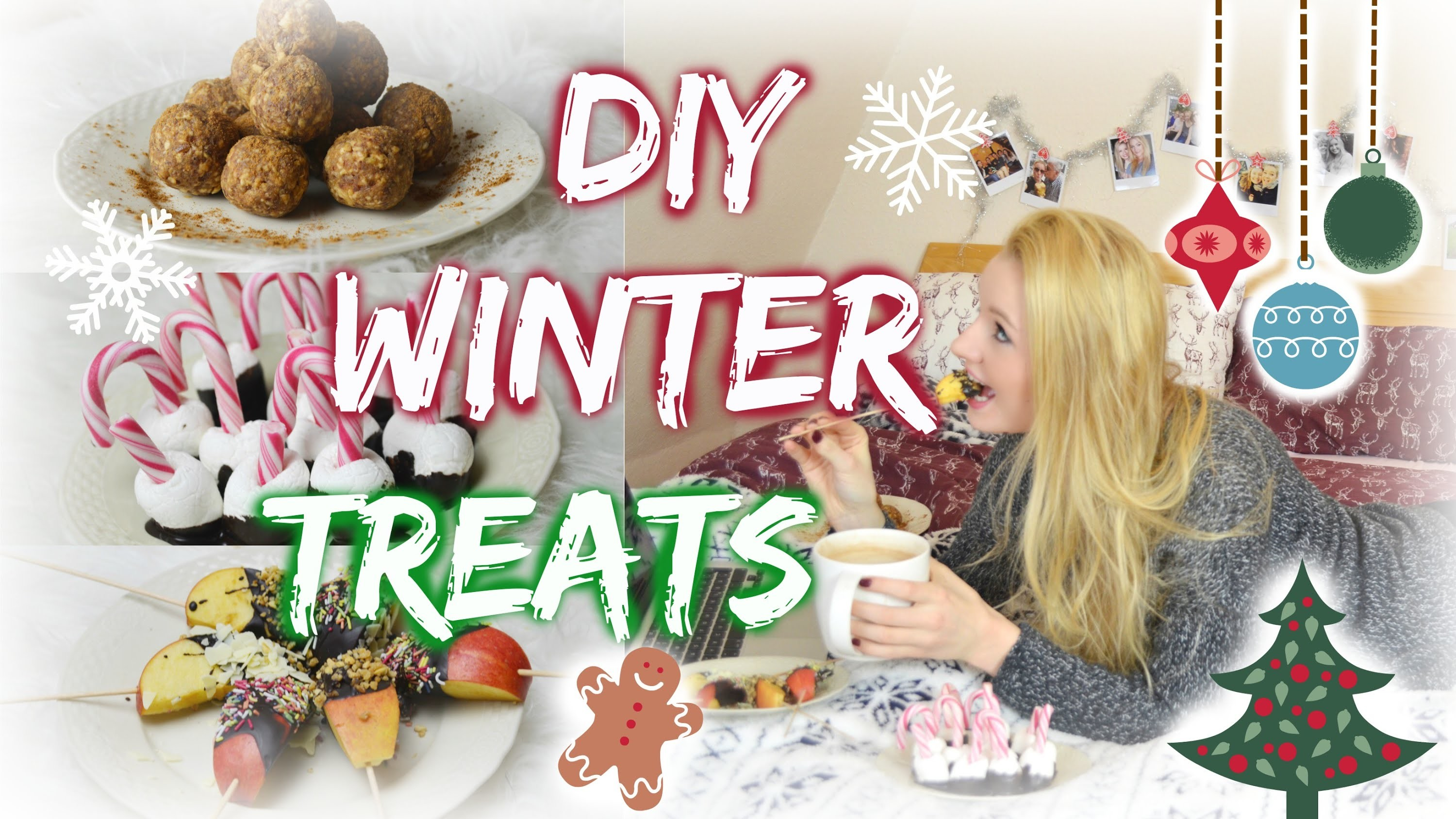 DIY WINTER.CHRISTMAS SNACKS & TREATS ❄